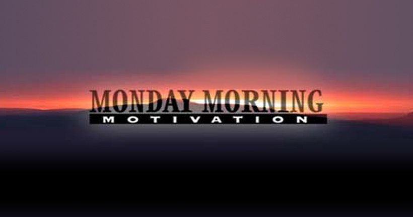 Monday Morning Motivation Masthead
